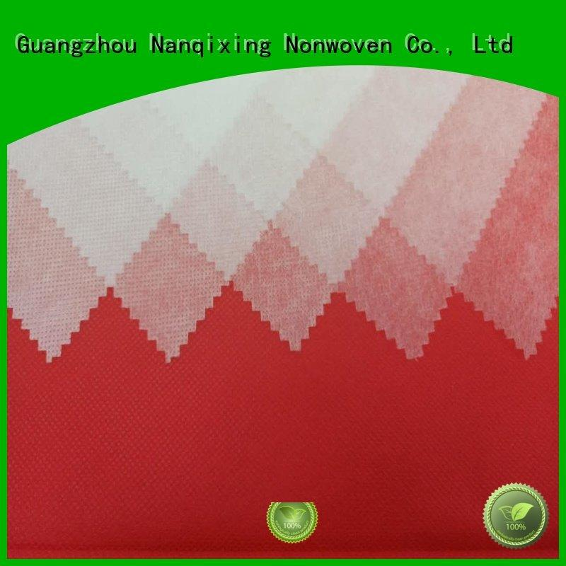 Nanqixing non woven fabric products upholstery supplier storage