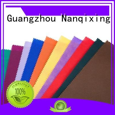 Custom hygiene different Non Woven Material Suppliers Nanqixing calendered