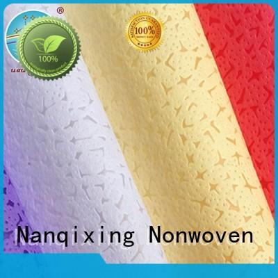 perforated Spunlace Non Woven Fabric Manufacturers directly sale for packaging Nanqixing