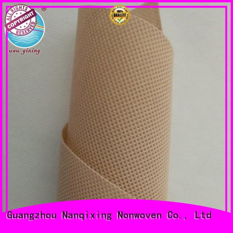 Nanqixing Brand usages Non Woven Material Wholesale woven fabric