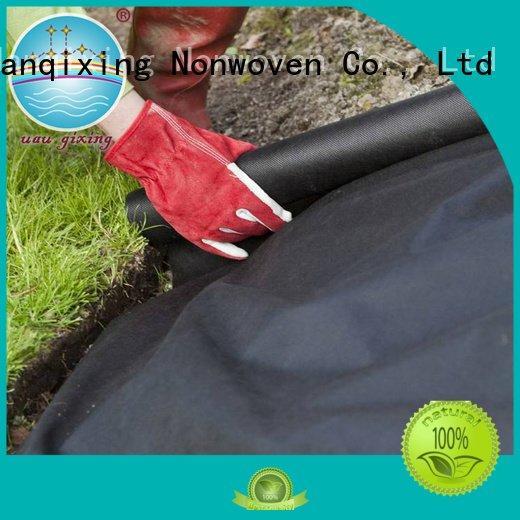 OEM best price weed control fabric antiuv black spunbond best weed control fabric