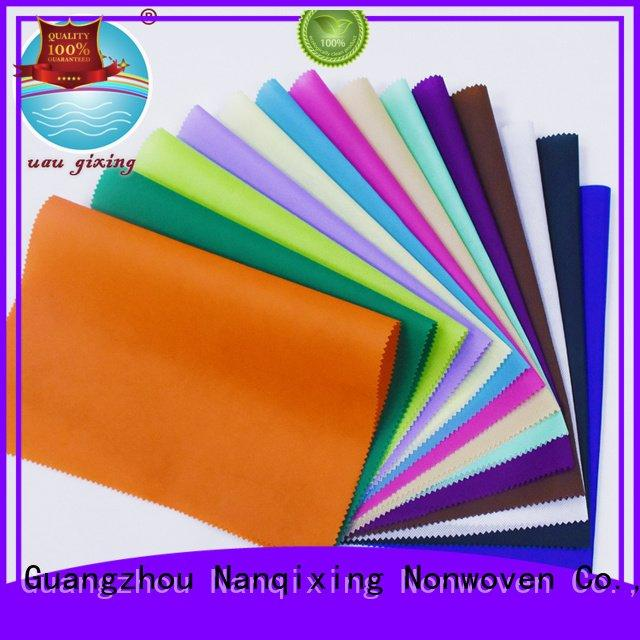 Non Woven Material Wholesale applications quality various tensile Nanqixing