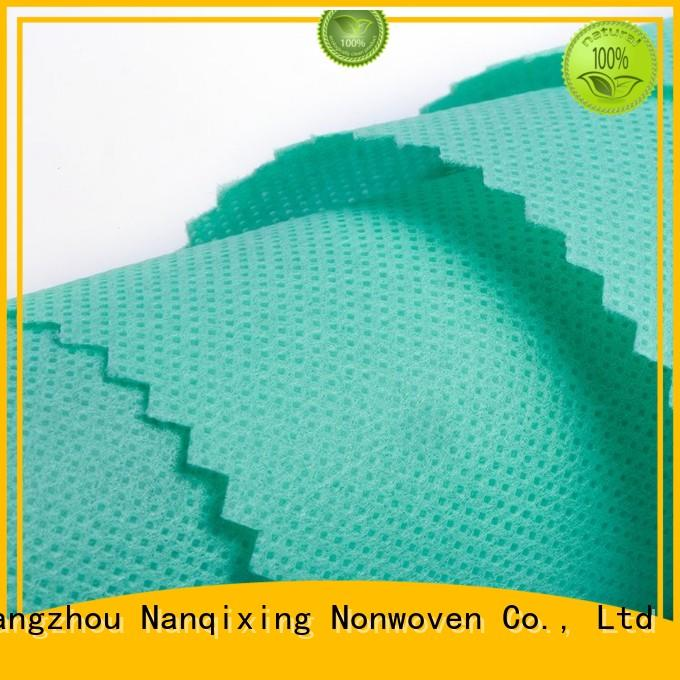 Hot Non Woven Material Suppliers calendered Nanqixing Brand