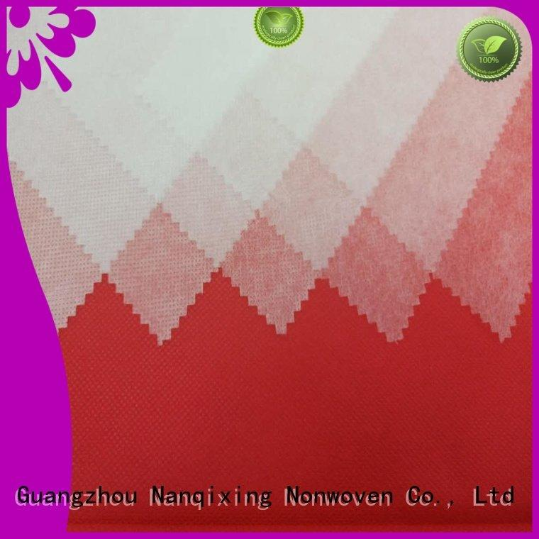 non woven fabric products high tensile OEM pp spunbond nonwoven fabric Nanqixing