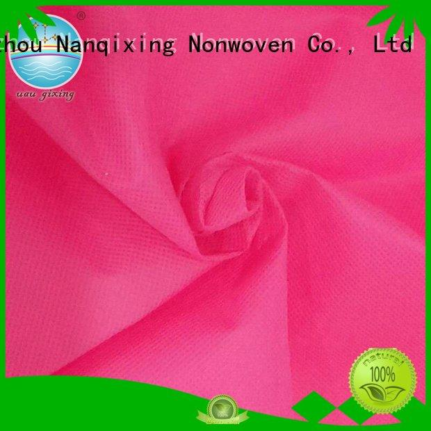 Nanqixing soft pp usage Non Woven Material Wholesale direct