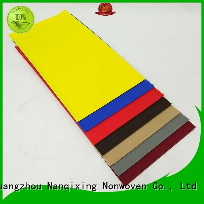 non woven fabric for sale different spunbond Nanqixing Brand non woven tablecloth