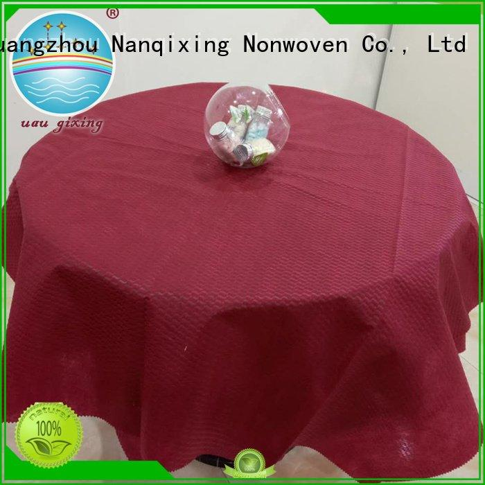 OEM non woven fabric for sale sizes fabric cloth non woven tablecloth