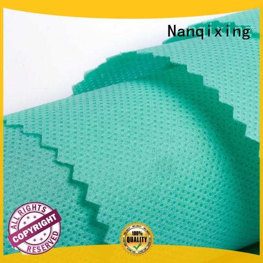 Nanqixing perforated Pp Spunbond Nonwoven Fabric Manufacturers factory direct supply for hygiene applications