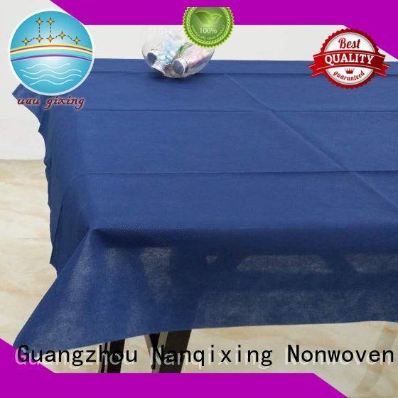 parties various nonwoven style Nanqixing non woven tablecloth