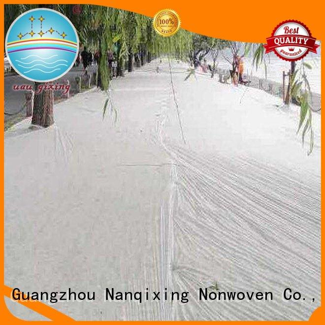 Nanqixing best price weed control fabric agriculture treated fabric