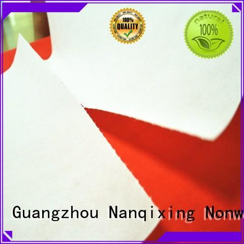 Nanqixing Brand fabric Non Woven Material Suppliers factory factory