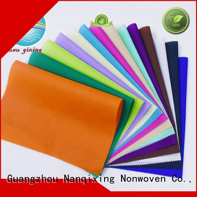 Wholesale spunbond woven Non Woven Material Suppliers Nanqixing Brand