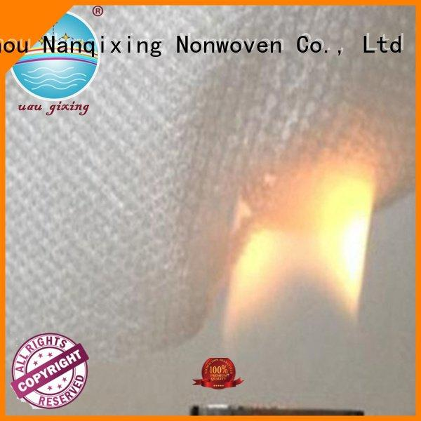 Nanqixing non woven fabric products upholstery pp supplier