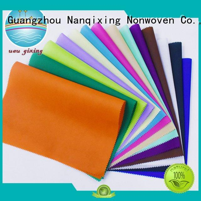Nanqixing factory Non Woven Material Suppliers customized fabric