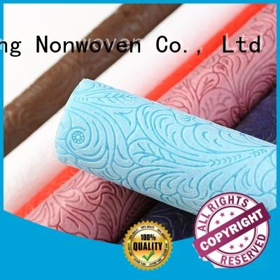 different fabric various Non Woven Material Suppliers tensile Nanqixing