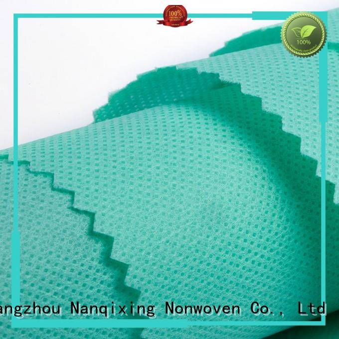 Nanqixing Brand tensile various Non Woven Material Wholesale spunbond