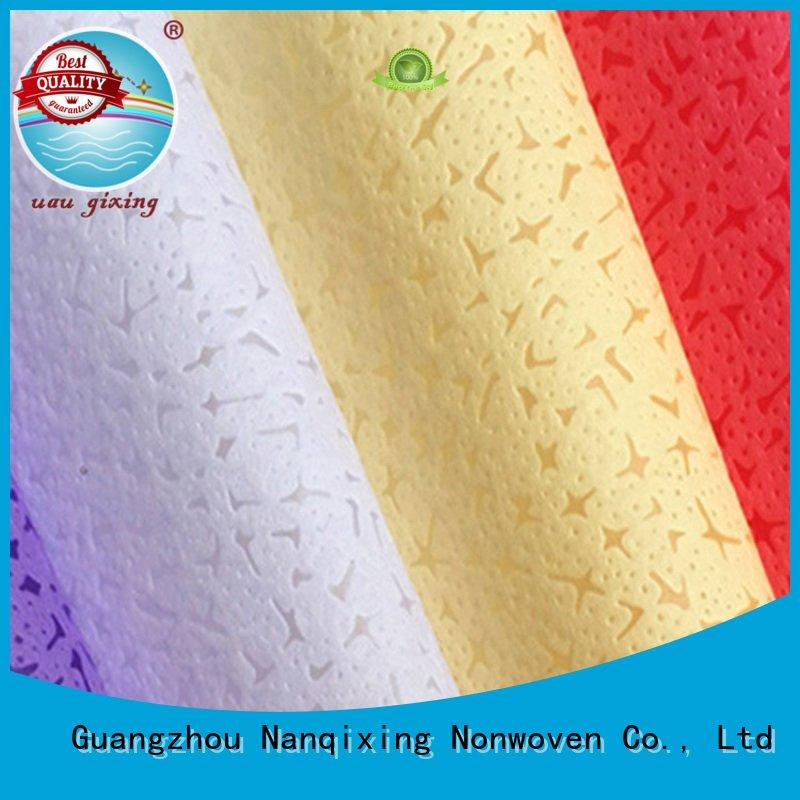 Nanqixing Brand various textile ecofriendly Non Woven Material Wholesale