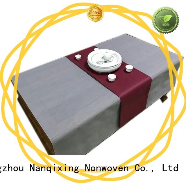 Nanqixing soft non woven filter cloth factory direct supply for wedding