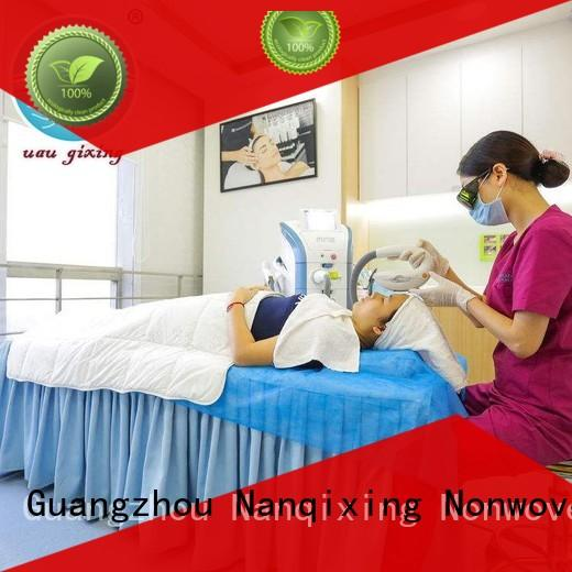 Nanqixing spunbond face mask fabric wholesale for baby diapers