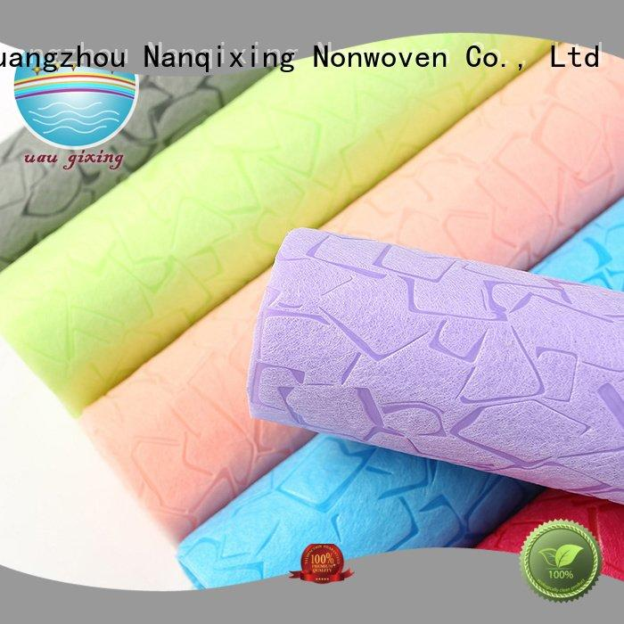 soft usages Nanqixing Non Woven Material Wholesale