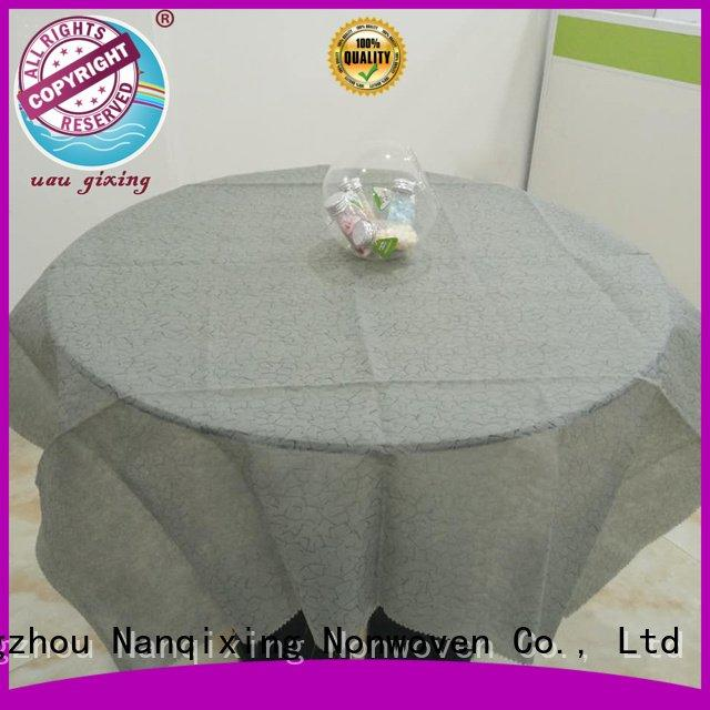 hotels cloth parties Nanqixing non woven fabric for sale