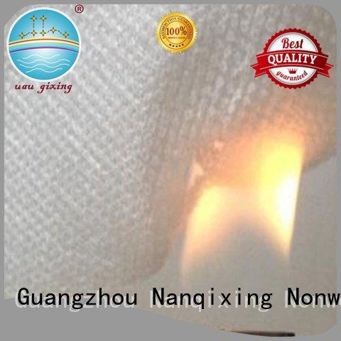 Nanqixing Brand pp spunbond bedding pp spunbond nonwoven fabric supplier