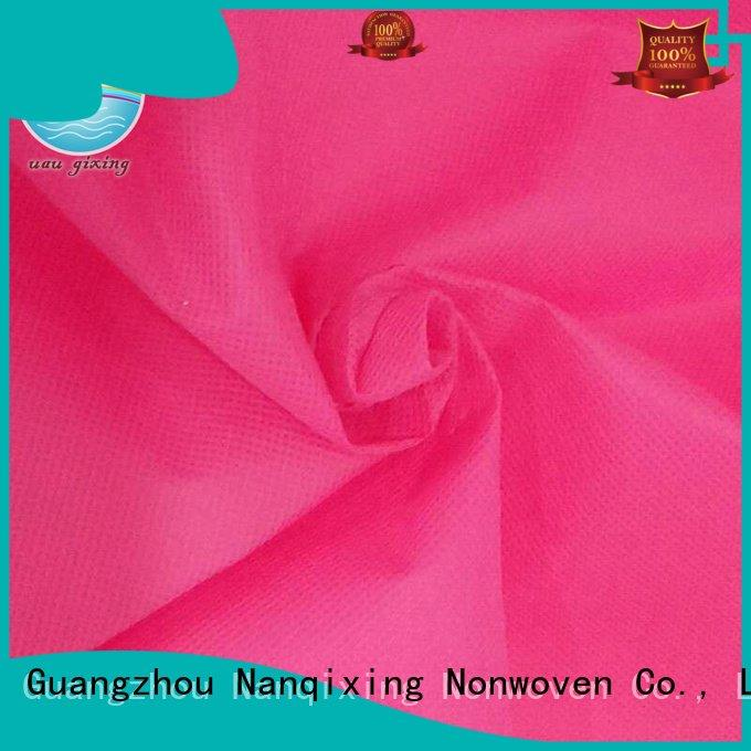 Nanqixing Non Woven Material Suppliers pp usages hygiene various