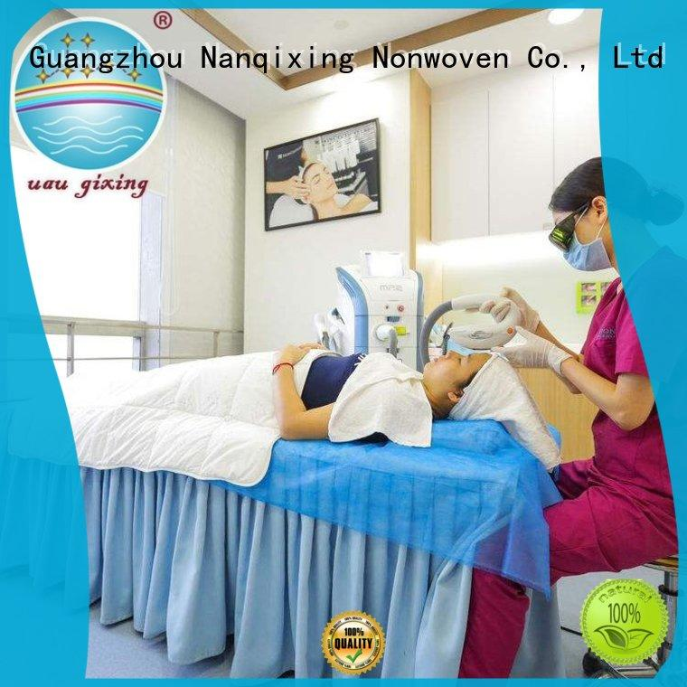 Nanqixing customized color non woven fabric bag manufacturing process supplier for baby diapers