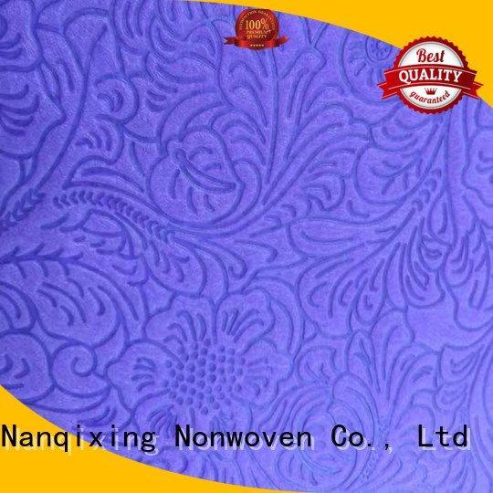 non woven fabric for sale nonwoven table non woven tablecloth Nanqixing Brand