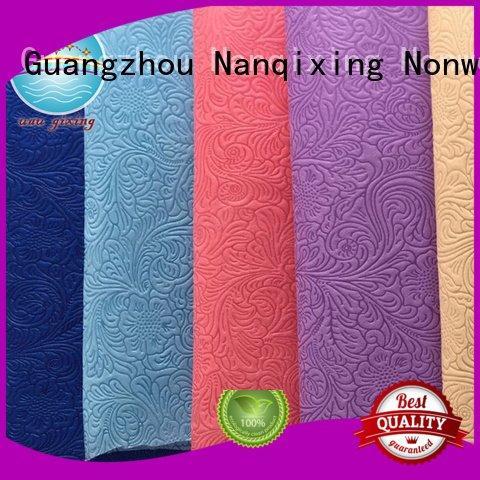 Custom Non Woven Material Suppliers textile ecofriendly medical Nanqixing