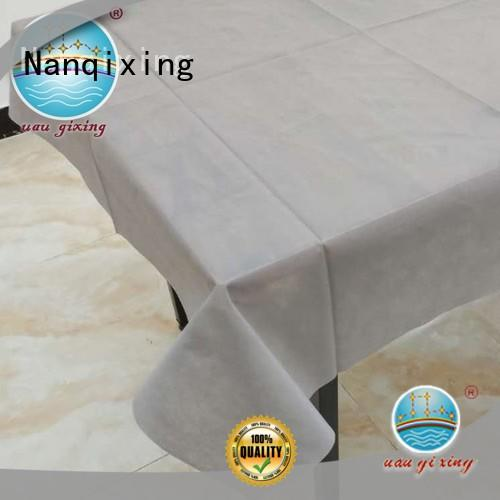 Nanqixing recyclable meltblown nonwoven fabric manufacturer in india series for banquets