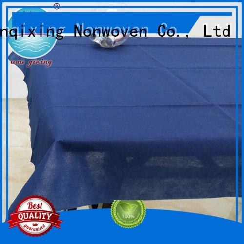 Nanqixing wedding beautiful non woven tablecloth different parties