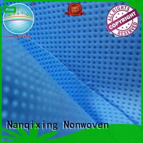 Spunlace Non Woven Fabric Manufacturers perforated for furniture Nanqixing