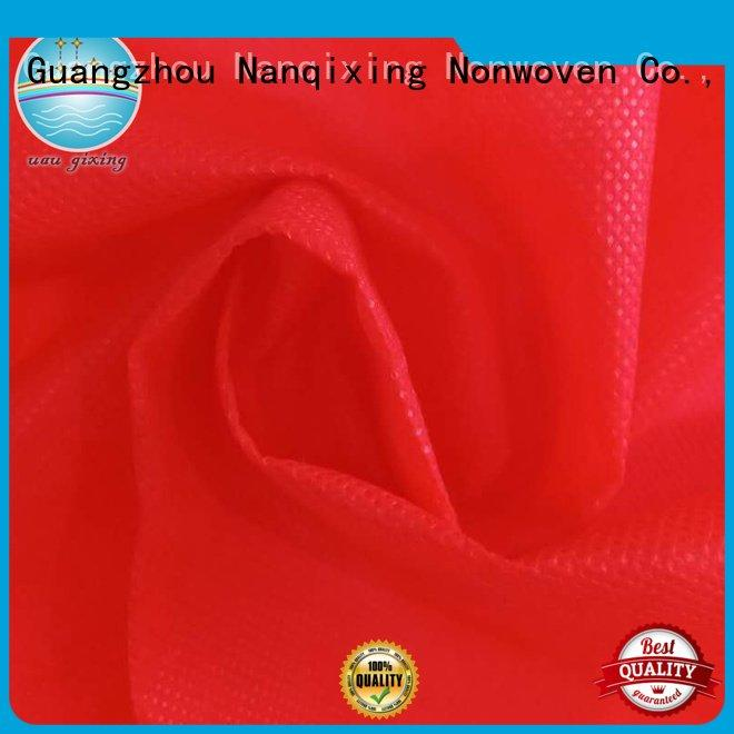 Nanqixing Brand calendered textile 100 Non Woven Material Suppliers