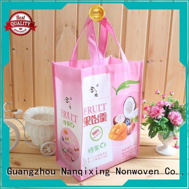 making non woven fabric bags Nanqixing laminated non woven fabric manufacturer