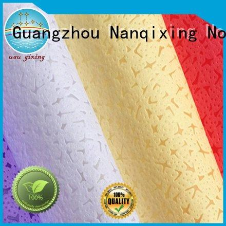 Nanqixing Brand good spunbond Non Woven Material Wholesale biodegradable customized
