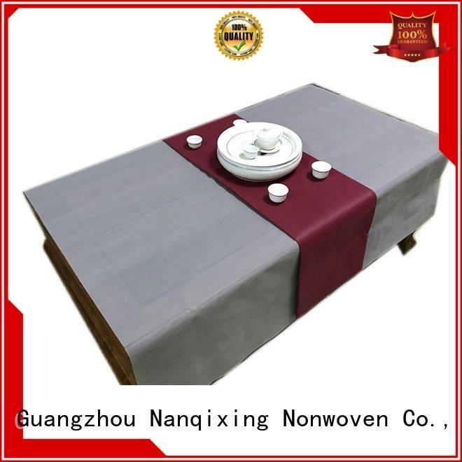non woven fabric for sale tnt Nanqixing Brand non woven tablecloth