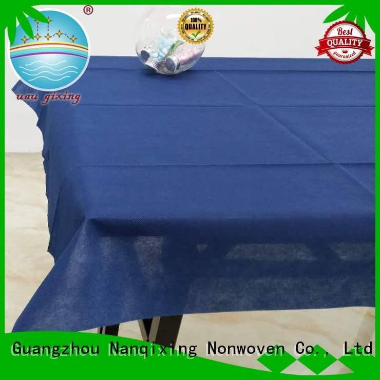 style non woven tablecloth Nanqixing non woven fabric for sale
