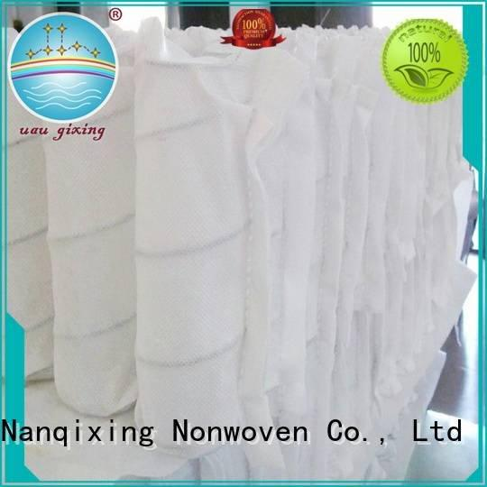 Nanqixing upholstery pp pp spunbond nonwoven fabric box spunbonded