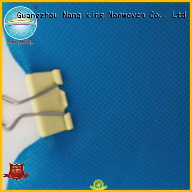 different fabric Nanqixing Non Woven Material Suppliers