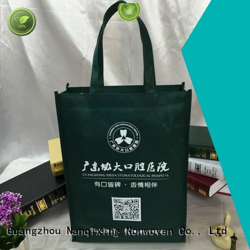 bags making Nanqixing laminated non woven fabric manufacturer