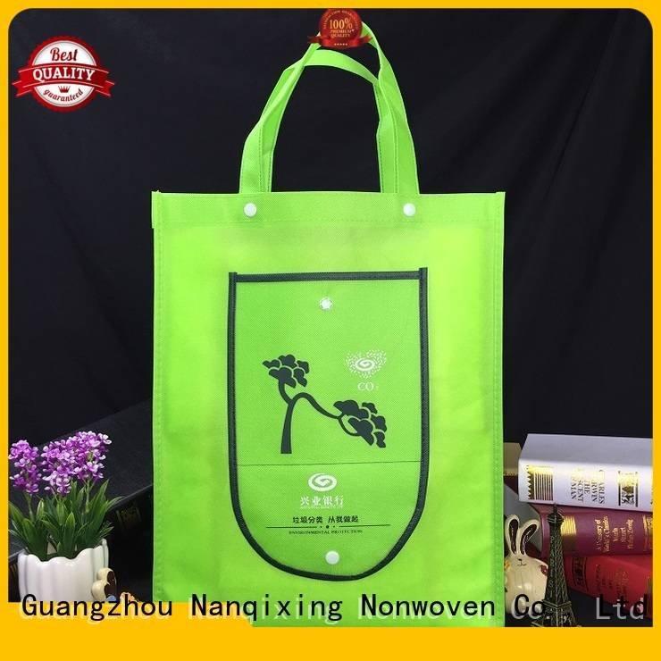 non roll quality Nanqixing non woven fabric bags