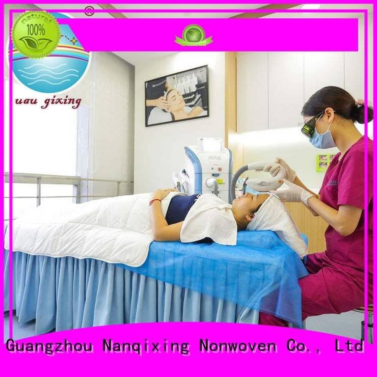 Nanqixing Brand spunbond nonwoven non woven medical products factory pp