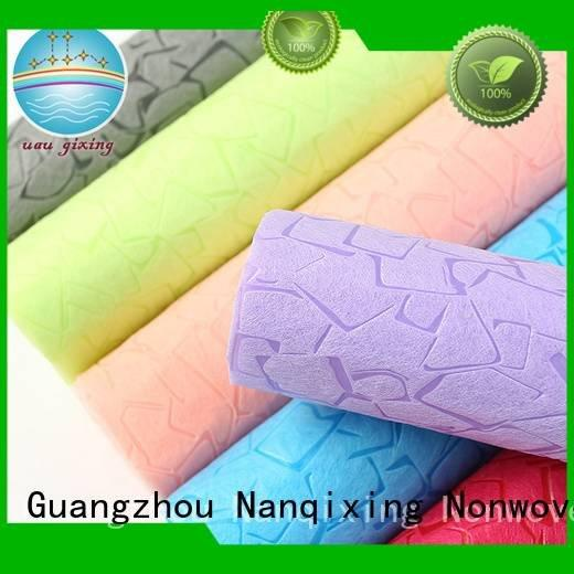 Nanqixing factory Non Woven Material Suppliers calendered usage