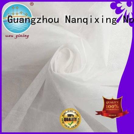 Nanqixing Non Woven Material Wholesale spunbond direct factory tensile