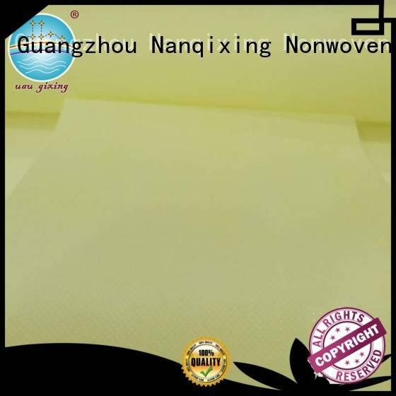 Nanqixing Non Woven Material Wholesale fabric different woven factory
