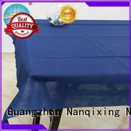 Wholesale beautiful hotels non woven tablecloth Nanqixing Brand