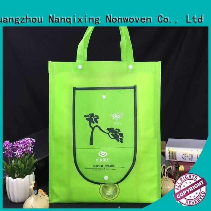 laminated non woven fabric manufacturer ecofriendly pp non woven fabric bags Nanqixing Warranty