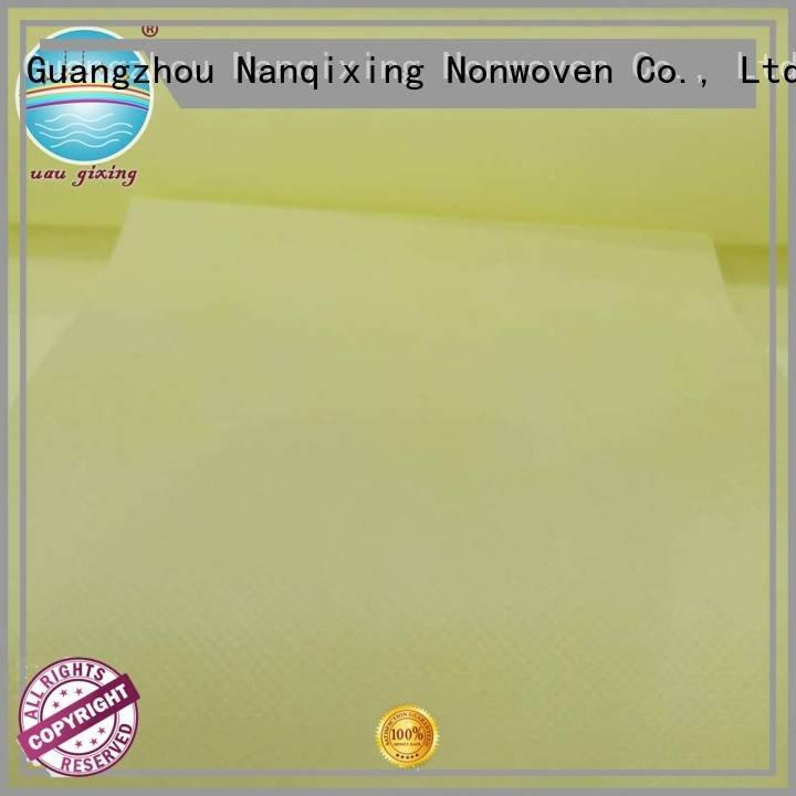 fabric usages designs usage Nanqixing Non Woven Material Wholesale