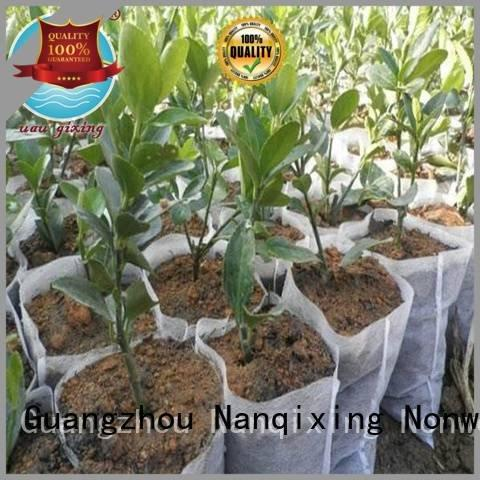 Nanqixing Brand pp vegetables best weed control fabric ecofriendly spunbond